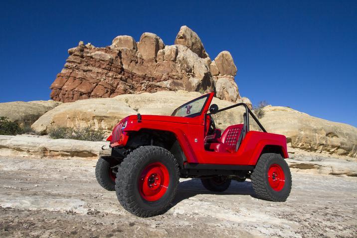 Shortcut Concept Jeep