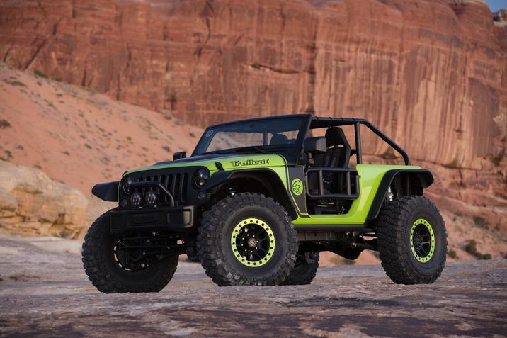 Trailcat Concept Jeep
